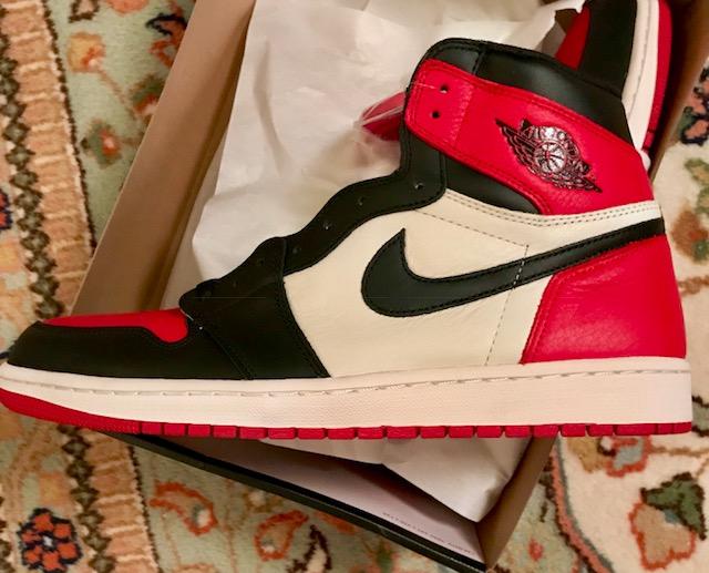 "28f7527a648c PATRICIAN REVIEW  Nike Air Jordan 1 ""Bred Toe"""