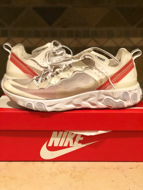 "ee0974eb467 PATRICIAN REVIEW  NIKE REACT ELEMENT 87 ""SAIL"""